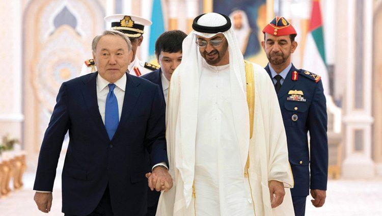 محمد بن زايد: الإمارات حريصة على بناء جسور التواصل مع مختلف دول العالم