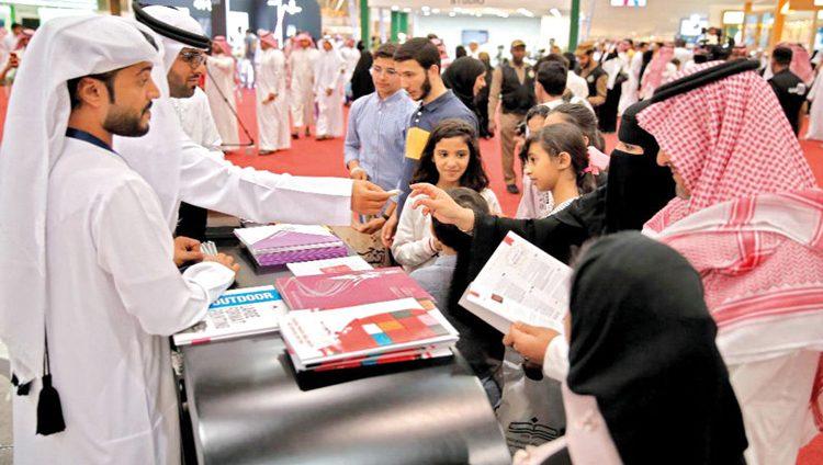 جناح الإمارات.. وجهة جاذبة للزوّار في «الرياض للكتاب»