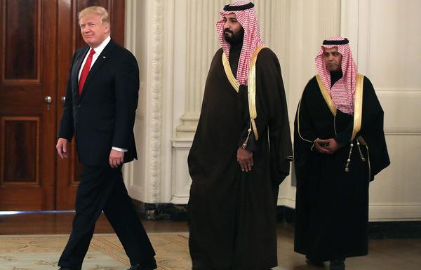 ولي العهد السعودي يصل واشنطن في زيارة رسمية