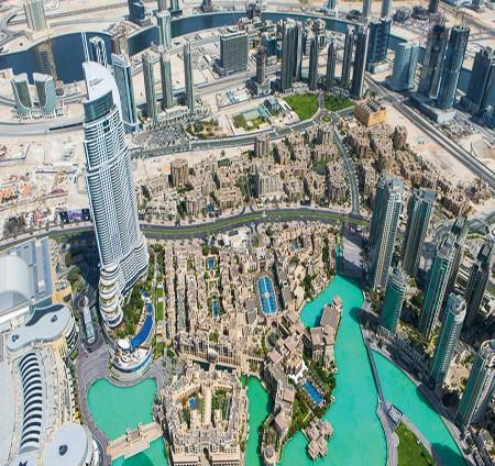 جولات سياحية لرؤية دبي من السماء