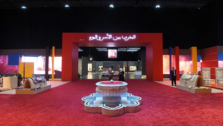 «المغرب في أبوظبي» تروي حكاية حضارة تنطق بالجمال
