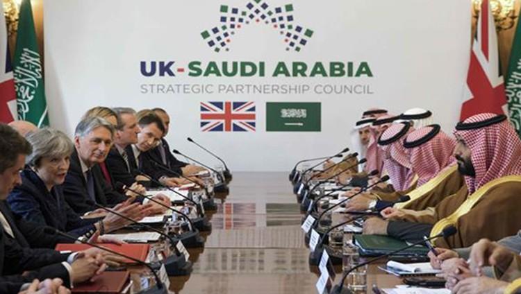 بيان سعودي بريطاني: الرياض حليف استراتيجي بالمنطقة