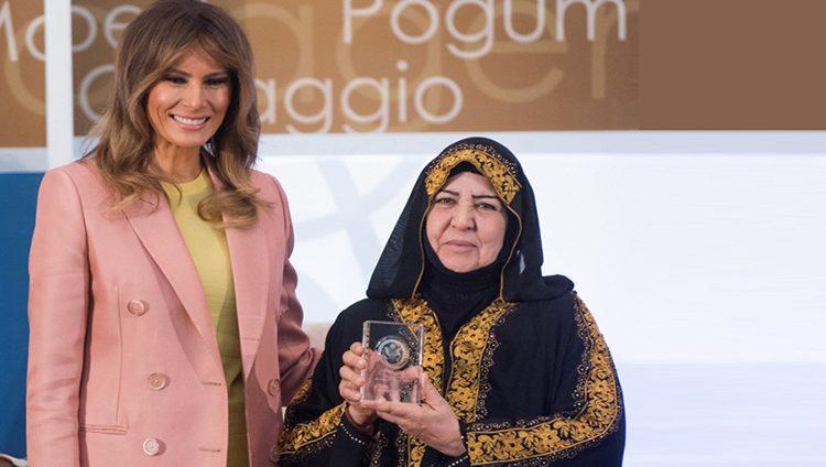سيدة عراقية ضمن أشجع عشر نساء في العالم