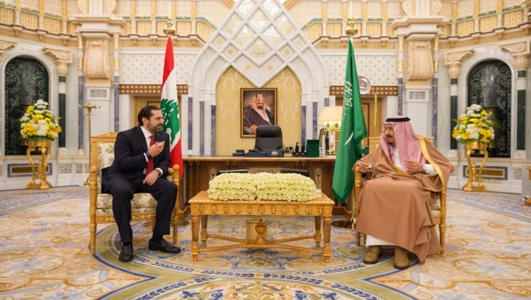 الملك سلمان يبحث مع الحريري مستجدات لبنان
