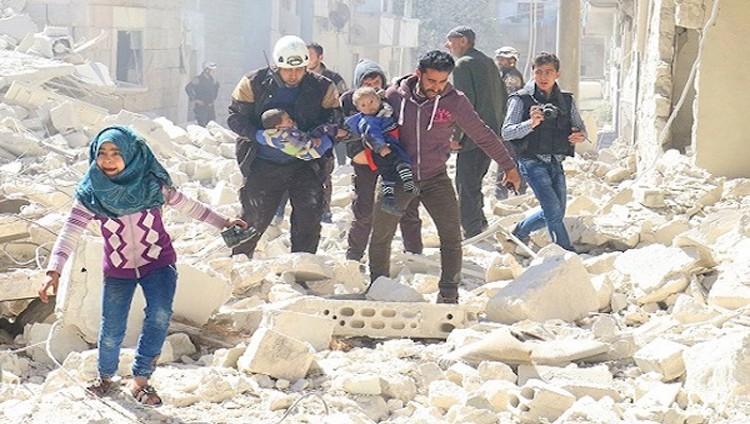 واشنطن تدين الهجمات على سكان غوطة دمشق