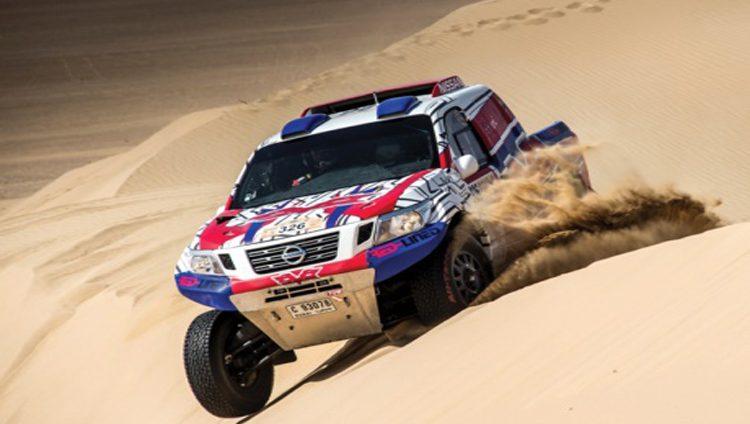 خالد القاسمي يواجه منافسة قوية في رالي أبوظبي الصحراوي