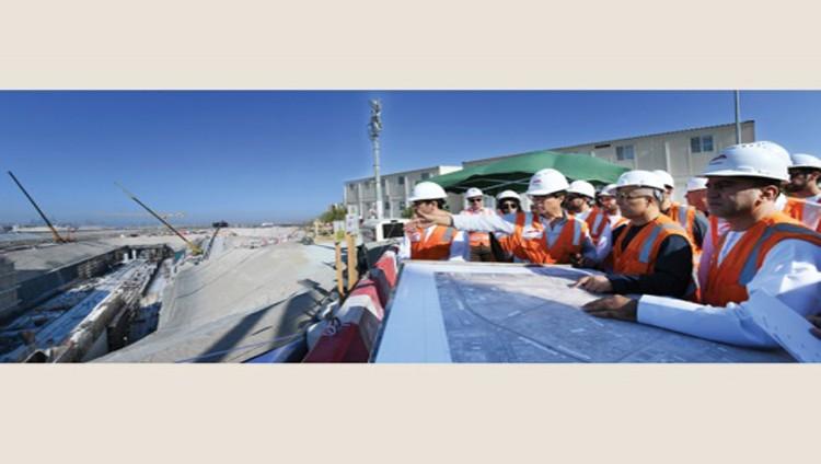 إنجاز 50% من أعمال الحفر في نفق مسار «إكسبو 2020»