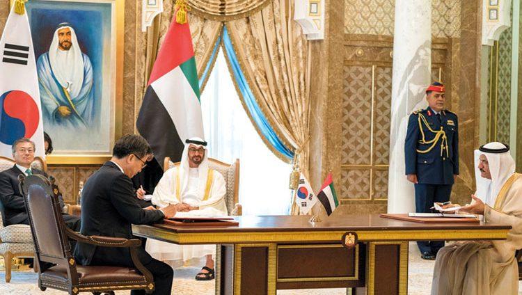 محمد بن زايد: العلاقات الإماراتية – الكورية الجنوبية تتجه إلى مزيد من القوة