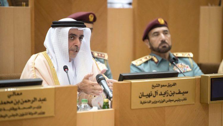 سيف بن زايد: الإمارات الأقل عالمياً في معدلات السرقة والحرائق والجرائم الجنسية