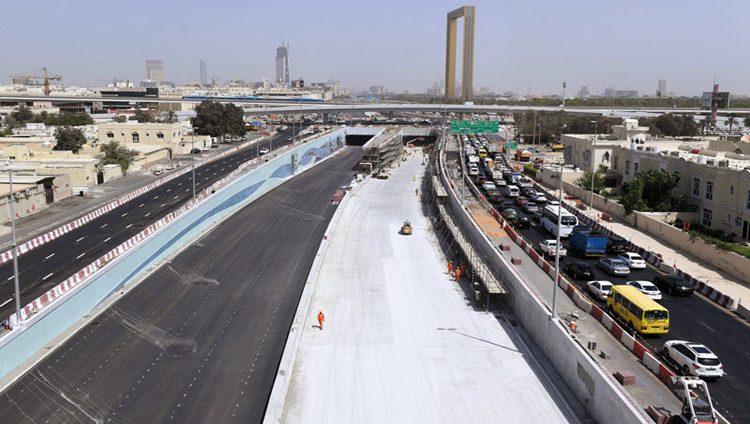 «طرق دبي»: افتتاح نفق شارع الشيخ راشد الخميس المقبل