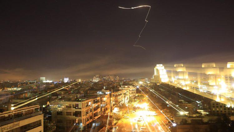 تفاصيل الضربات الأميركية لسوريا