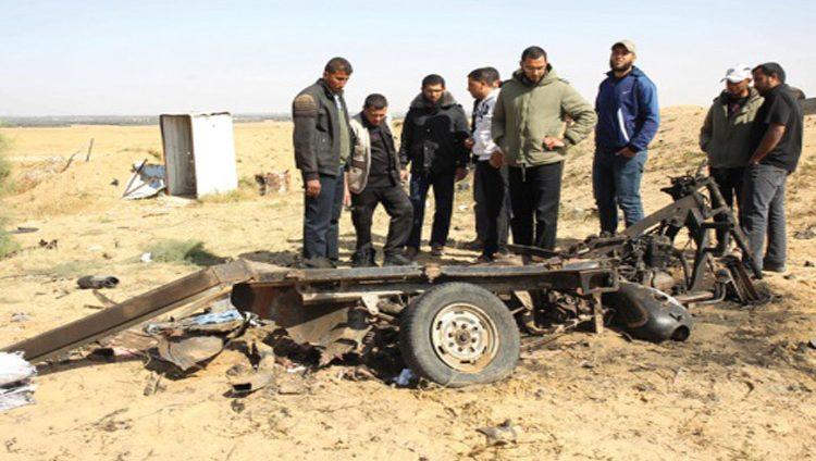 استشهاد أربعة مقاومين بانفجار عرضي في غزة