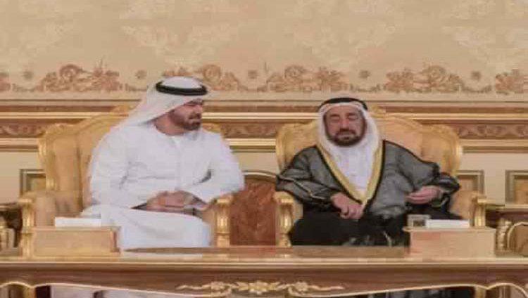 سلطان يواصل تقبل التعازي في وفاة أحمد بن محمد القاسمي