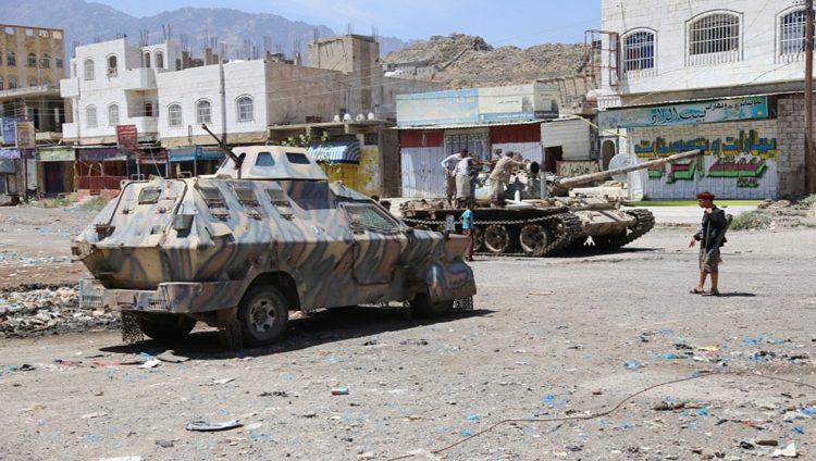 الشرعية على بعد 10 كيلومترات من معقل الحوثي