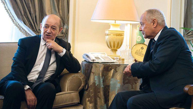 فرنسا تؤكد دعمها لحل الدولتين وترفض المساس بوضعية القدس