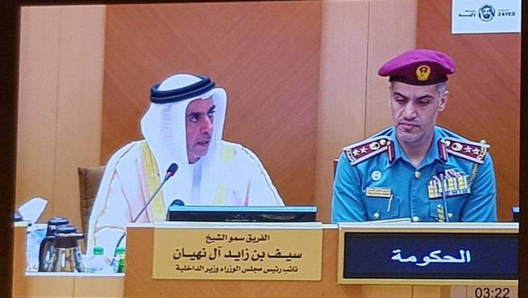سيف بن زايد: الإمارات أقل دول العالم في حوادث السرقة والحرائق والجرائم الجنسية