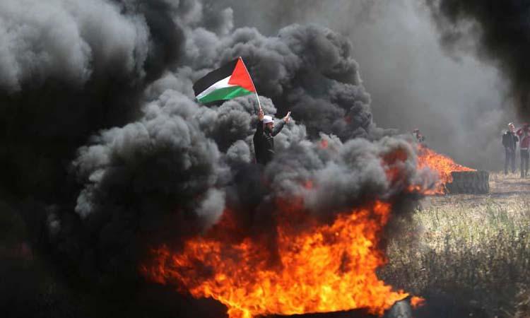 ارتفاع شهداء غزة إلى 10 وإصابة 1400