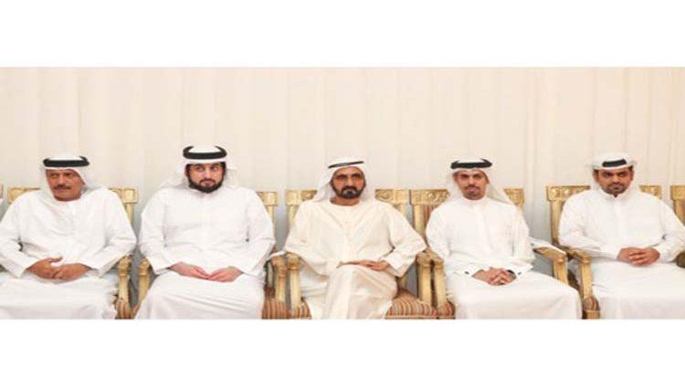 محمد بن راشد يدعو المواطن المزروعي لحضور مجلس الوزراء