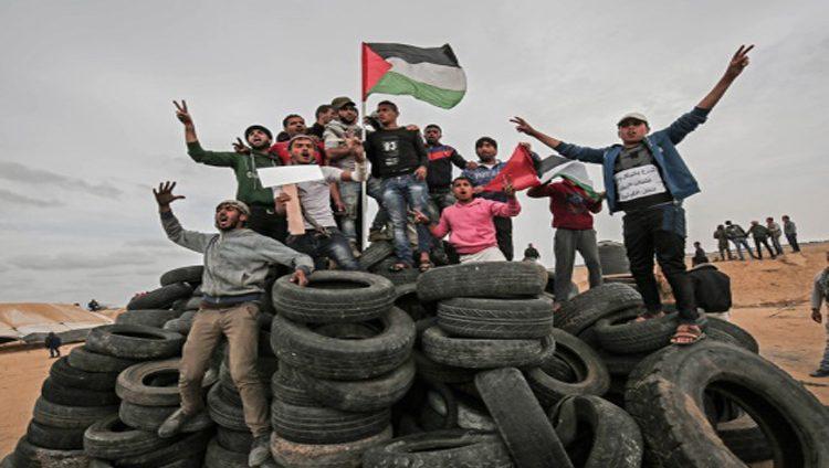 شهيدان في الضفة وغزة في اليوم الرابع لمسيرات العودة