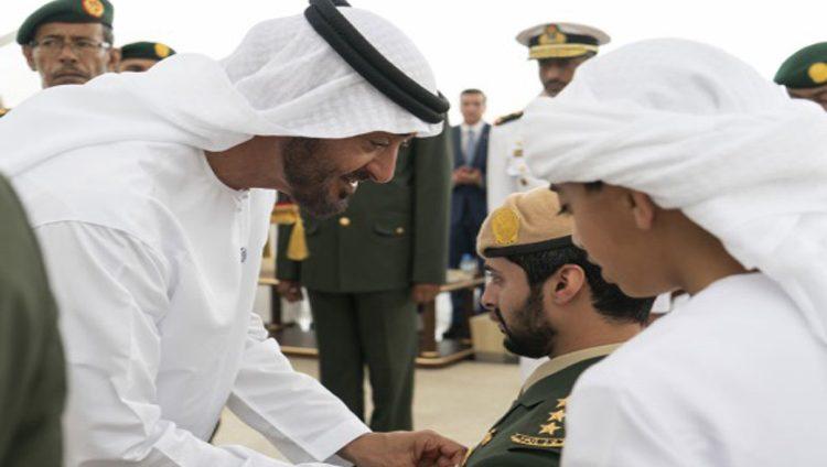 محمد بن زايد: قواتنا المسلحة فخر الوطن