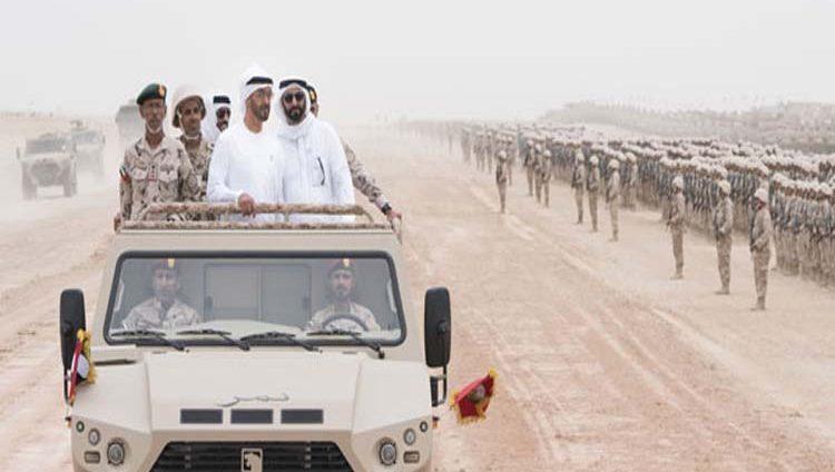 محمد بن زايد: قواتنا المسلحة جاهزة للتعامل مع مختلف التهديدات