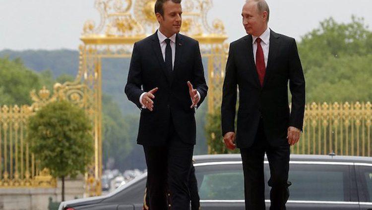 ماكرون يزور روسيا ويجري محادثات مهمة مع بوتين