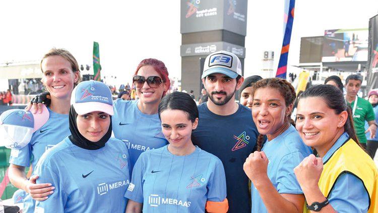 حمدان بن محمد يشهد انطلاق منافسات «الألعاب الحكومية»