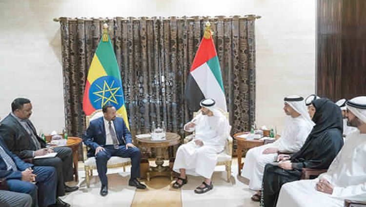 محمد بن زايد: سياسة الإمارات ثابتة في توسيع علاقاتها مع الدول الصديقة