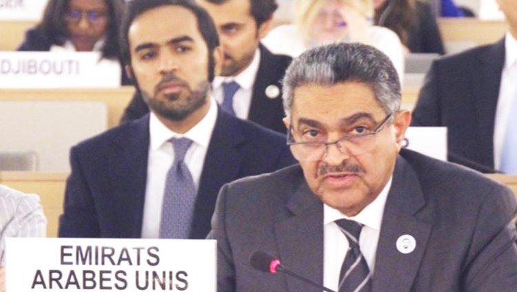 الإمارات تطالب بتدخل دولي لحماية الفلسطينيين