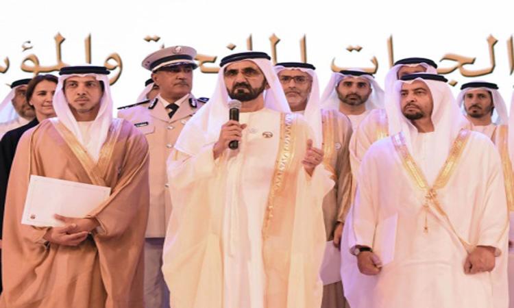 محمد بن راشد: عطاؤنا وإنسانيتنا جزء من إرث وقيم زايد