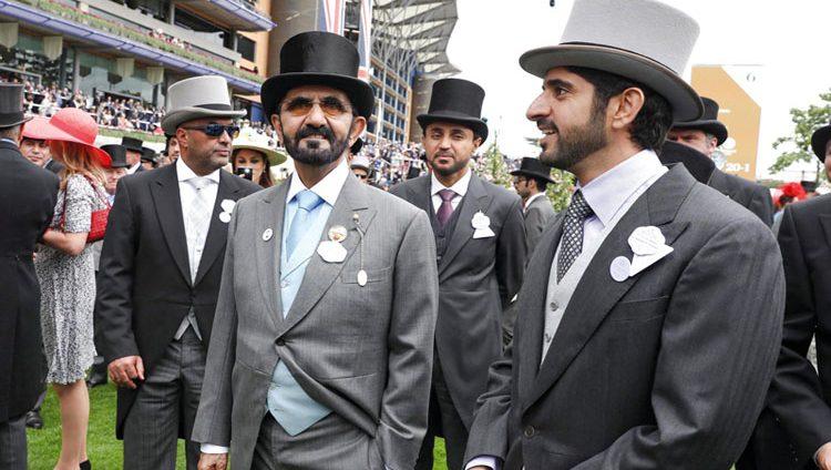 محمد بن راشد يشهد إنجـاز «غودولفين» في انطلاق مهرجان «رويال أسكوت»