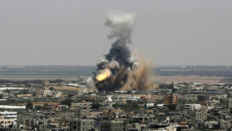 طائرات الاحتلال تقصف 25 موقعاً في غزة