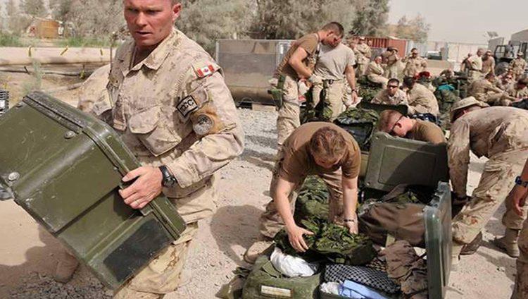 كندا توقف مساعدة القوات الكردية في العراق