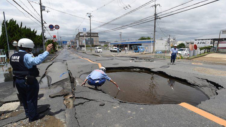 زلزال قوي يضرب اليابان وأنباء عن خسائر بشرية