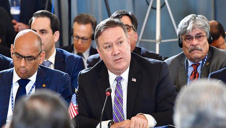 وزير «خارجية» أميركا: نظام إيران مجرم