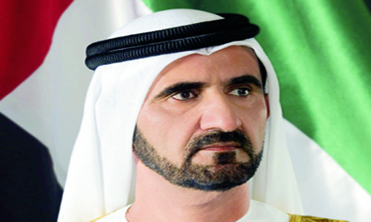 محمد بن راشد : ابن الامارات قادر على معانقة الفضاء