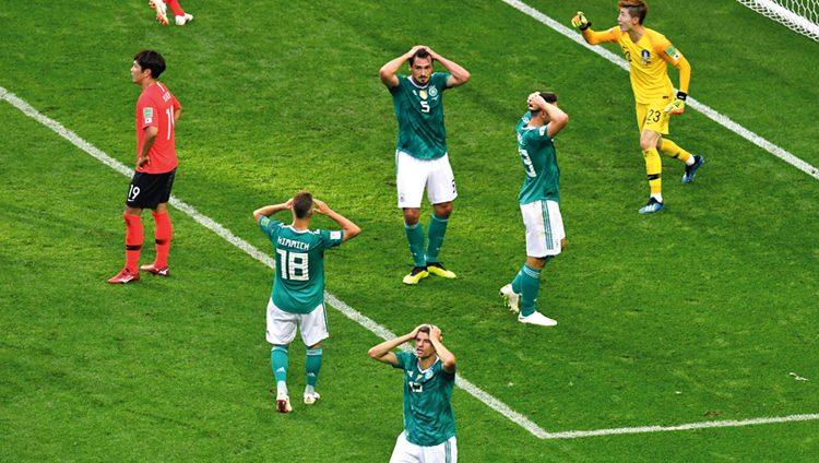 ألمانيا تودّع دور المجموعات للمرة الأولى منذ 80 عاماً