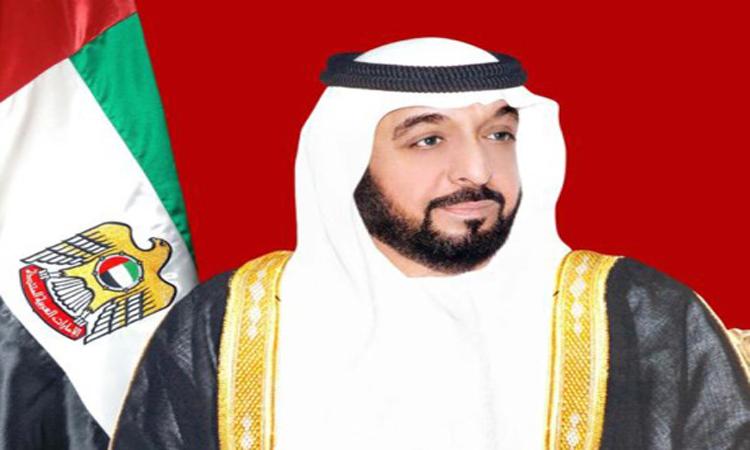 خليفة ومحمد بن راشد ومحمد بن زايد وسلطان والحكام يهنئون أمير الكويت