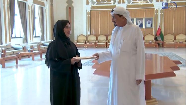حاكم عجمان يكرم أوائل الثانوية العامة