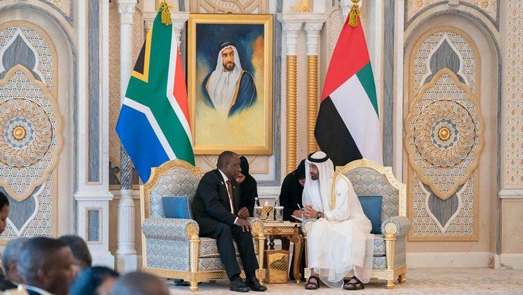 محمد بن زايد: الإمارات حريصة على تعزيز شراكاتها مع الدول الإفريقية