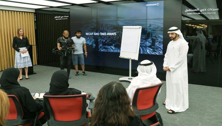 حمدان بن محمد: شبابنا يصنعون نهضة علمية ومعرفية