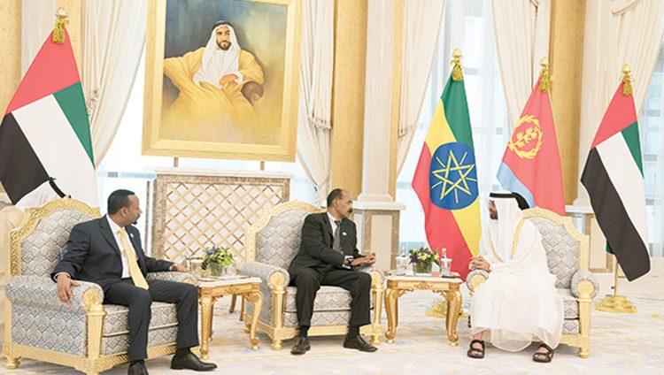 محمد بن زايد: الإمارات بقيادة خليفة تدعم كل جهد لتحقيق السلام في العالم
