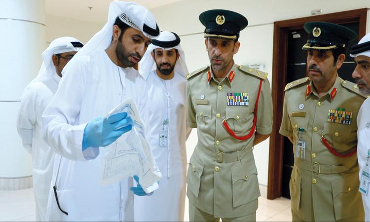 شرطة دبي تستعيد ألماسة قيمتها 73 مليون درهم بعد سرقتها وتهريبها
