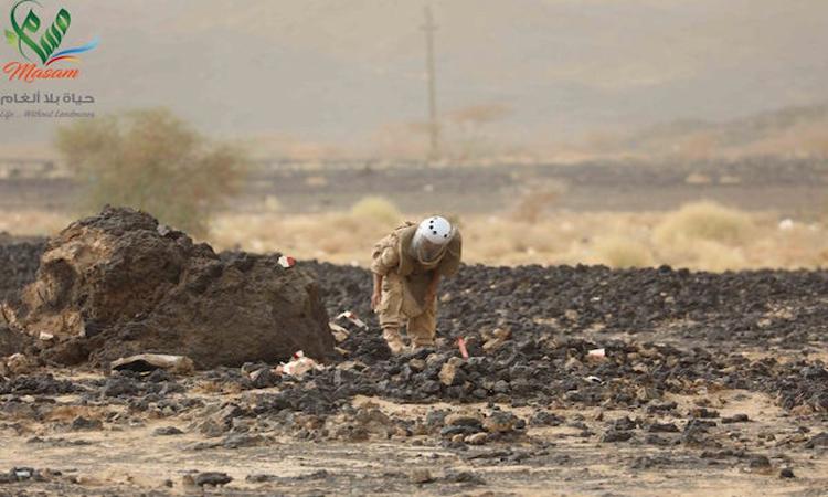 مليون لغم زرعها الانقلابيون في الأراضي اليمنية خلال 3 سنوات