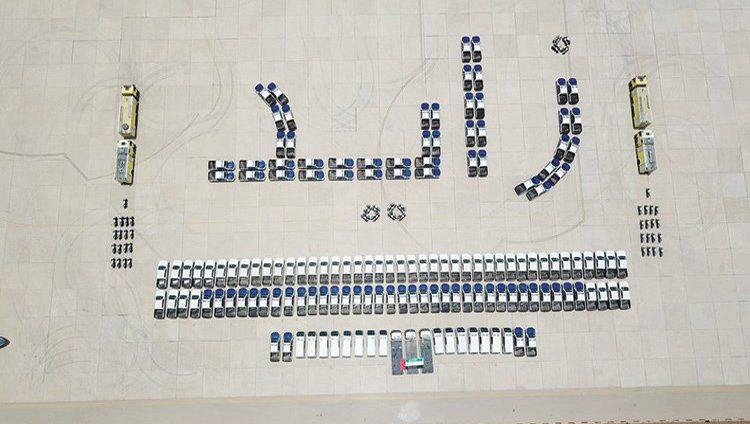 الإمارات تقدم 157 مركبة لدعم الأمن في حضرموت