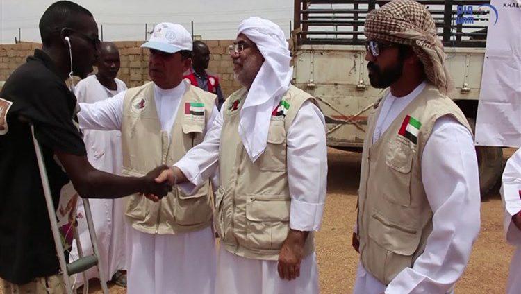 """""""خليفة الإنسانية"""" تختتم برنامج إغاثة متضرري الفيضانات في السودان"""