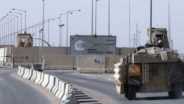 مصادر عراقية:استهداف مطار البصرة بـ4 قذائف صاروخية