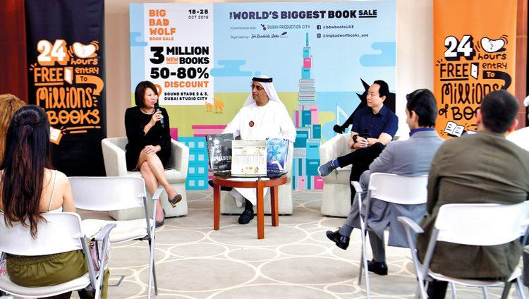 3 ملايين كتاب على مدار الساعة في دبي