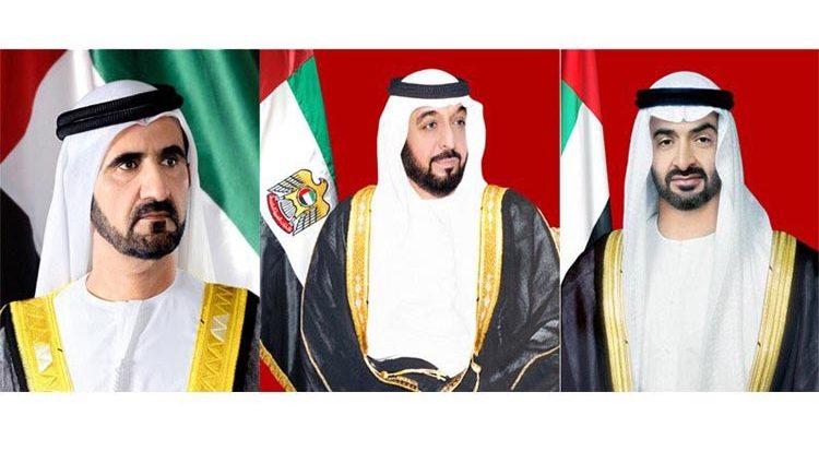 رئيس الدولة ونائبه ومحمد بن زايد يهنئون رئيس اذربيجان بذكرى استقلال بلاده
