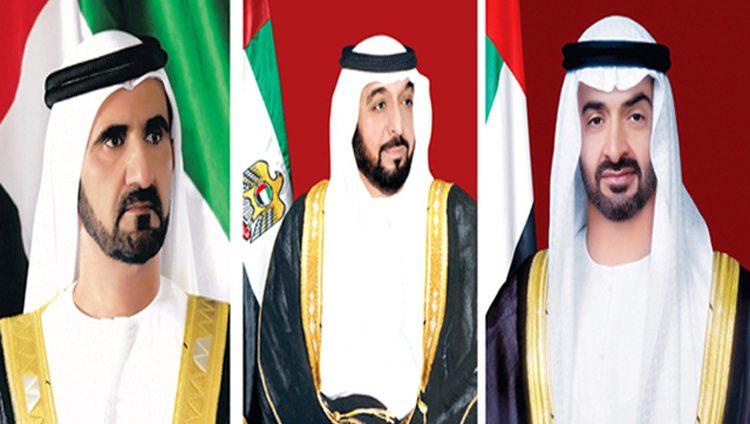 رئيس الدولة ونائبه ومحمد بن زايد يعزون ملك الأردن في ضحايا سيول البحر الميت